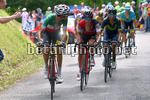 Tour de France 2017 - 104th Edition - 9th stage  Nantua - Chambery 181.5 km - 09/07/2017 - Fabio Aru (ITA - Astana Pro Team) - Richie Porte (AUS - BMC) - Nairo Quintana (COL - Movistar) - photo TDW/BettiniPhoto©2017