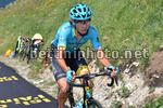 Tour de France 2017 - 104th Edition - 9th stage  Nantua - Chambery 181.5 km - 09/07/2017 - Bakhtiyar Kozhatayev (KAZ - Astana Pro Team) - photo TDW/BettiniPhoto©2017