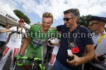 Tour de France 2017 - 104th Edition - 11th stage  Eymet - Pau 203.5 km - 12/07/2017 - Marcel Kittel (GER - QuickStep - Floors) - Alessandro Tegner (ITA - QuickStep - Floors) - photo Luca Bettini/BettiniPhoto©2017