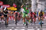 Tour de France 2017 - 104th Edition - 11th stage  Eymet - Pau 203.5 km - 12/07/2017 - Marcel Kittel (GER - QuickStep - Floors) - Edvald Boasson Hagen (NOR - Dimension Data) - Dylan Groenewegen (NED - LottoNL - Jumbo) - Michael Matthews (AUS - Team Sunweb)
