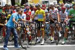 Tour de France 2017 - 104th Edition - 13th stage Saint Girons - Foix 101 km - 14/07/2017 - Gabriele Tosello (ITA - Astana Pro Team) - Fabio Aru (ITA - Astana Pro Team) - photo Luca Bettini/BettiniPhoto©2017