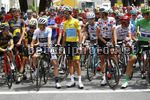 Tour de France 2017 - 104th Edition - 13th stage Saint Girons - Foix 101 km - 14/07/2017 - Simon Yates (GBR - ORICA - Scott) - Fabio Aru (ITA - Astana Pro Team) - Warren Barguil (FRA - Team Sunweb) - photo Luca Bettini/BettiniPhoto©2017