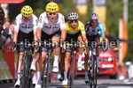 Tour de France 2017 - 104th Edition - 13th stage Saint Girons - Foix 101 km - 14/07/2017 - Fabio Aru (ITA - Astana Pro Team) - Christopher Froome (GBR - Team Sky) - photo TDW/BettiniPhoto©2017