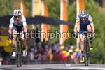 Tour de France 2017 - 104th Edition - 13th stage Saint Girons - Foix 101 km - 14/07/2017 - Daniel Martin (IRL - QuickStep - Floors) - Simon Yates (GBR - ORICA - Scott) - photo TDW/BettiniPhoto©2017