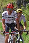Tour de France 2017 - 104th Edition - 13th stage Saint Girons - Foix 101 km - 14/07/2017 - Alberto Contador (ESP - Trek - Segafredo) - Mikel Landa (ESP - Team Sky) - photo TDW/BettiniPhoto©2017