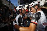 Tour de France 2017 - 104th Edition - 14th stage Blagnac - Rodez 181.5 km - 15/07/2017 - Michael Matthews (AUS - Team Sunweb) - Nikias Arndt (GER - Team Sunweb) - photo Luca Bettini/BettiniPhoto©2017