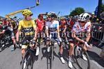 Tour de France 2017 - 104th Edition - 15th stage Laissac Severac lÕEglise - Le Puy en Velay 189.5 km - 16/07/2017 - Christopher Froome (GBR - Team Sky) - Simon Yates (GBR - ORICA - Scott) - Warren Barguil (FRA - Team Sunweb) - photoTDW/BettiniPhoto©2017