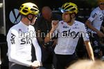 Tour de France 2017 - 104th Edition - 2nd Rest Day - 17/07/2017 - Christopher Froome (GBR - Team Sky) - Mikel Landa (ESP - Team Sky) - photo Luca Bettini/BettiniPhoto©2017