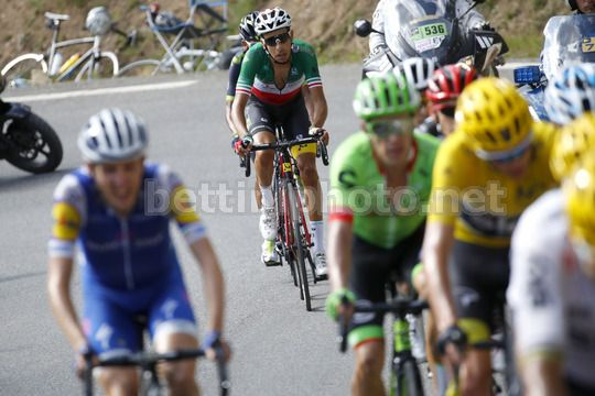 Tour de France 2017 - 104th Edition - 18th stage Briancon - Izoard 179.5 km - 20/07/2017 - Fabio Aru (ITA - Astana Pro Team) - Nairo Quintana (COL - Movistar) - Photo Luca Bettini/BettiniPhoto©2017