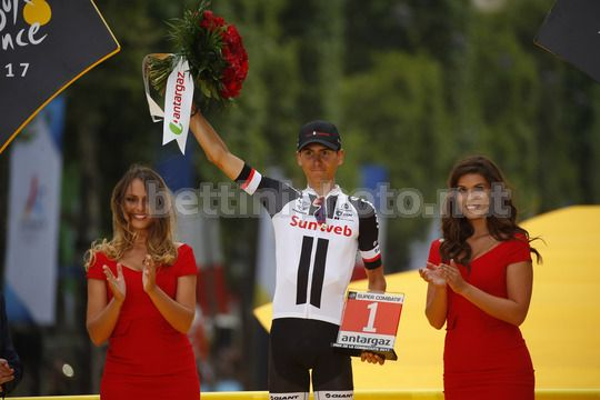 Tour de France 2017 - 104th Edition - 21th stage Montgeron - Paris 103 km - 23/07/2017 - Warren Barguil (FRA - Team Sunweb) - Photo Luca Bettini/BettiniPhoto©2017