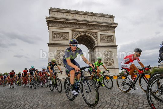 Tour de France 2017 - 104th Edition - 21th stage Montgeron - Paris 103 km - 23/07/2017 - Jasha Sutterlin (GER - Movistar) - Photo Luca Bettini/BettiniPhoto©2017
