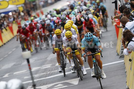 Tour de France 2017 - 104th Edition - 21th stage Montgeron - Paris 103 km - 23/07/2017 - Dmitriy Gruzdev (KAZ - Astana Pro Team) - Photo Luca Bettini/BettiniPhoto©2017