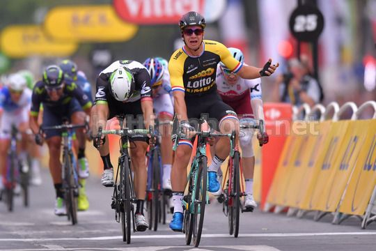 Tour de France 2017 - 104th Edition - 21th stage Montgeron - Paris 103 km - 23/07/2017 - Dylan Groenewegen (NED - LottoNL - Jumbo) - Photo TDW/BettiniPhoto©2017