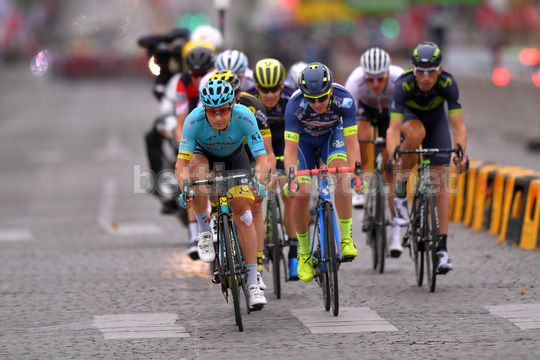 Tour de France 2017 - 104th Edition - 21th stage Montgeron - Paris 103 km - 23/07/2017 - Alexey Lutsenko (KAZ - Astana Pro Team) - Photo TDW/BettiniPhoto©2017