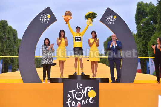Tour de France 2017 - 104th Edition - 21th stage Montgeron - Paris 103 km - 23/07/2017 - Christopher Froome (GBR - Team Sky) - Photo TDW/BettiniPhoto©2017