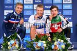UEC Road European Championships 2017 - Herning - Men Under 23 Road Race - Day 4 - 05/08/2017 - Pedersen Casper (Denmark) - Cosnefroy Benoit (France) - Hirschi Marc (Swiss) - photo Dario Belingheri/BettiniPhoto©2017