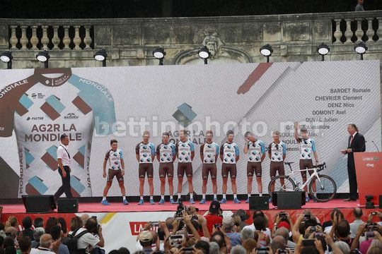 Vuelta Espana 2017 - 18/08/2017 - Nimens - Team Presentation - AG2R - La Mondiale - Photo Luis Angel Gomez/BettiniPhoto©2017