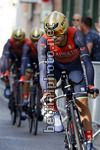Vuelta Espana 2017 - 72th Edition - 1st stage Nimes - Nimes 13.7 km - 19/08/2017 - Giovanni Visconti (ITA - Bahrain - Merida) - photo Luis Angel Gomez/BettiniPhoto©2017