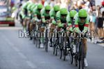 Vuelta Espana 2017 - 72th Edition - 1st stage Nimes - Nimes 13.7 km - 19/08/2017 - Cannondale - Drapac - photo Luis Angel Gomez/BettiniPhoto©2017