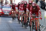Vuelta Espana 2017 - 72th Edition - 1st stage Nimes - Nimes 13.7 km - 19/08/2017 - Katusha - Alpecin - photo Luis Angel Gomez/BettiniPhoto©2017