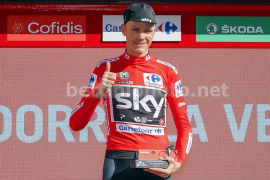 Vuelta Espana 2017 - 72th Edition - 3rd stage Prades - Andorra la Vella 158.5km - 21/08/2017 - Christopher Froome (GBR - Team Sky) - Photo Luis Angel Gomez/BettiniPhoto©2017