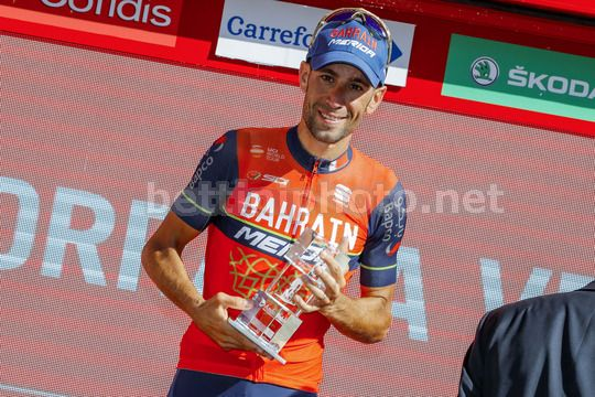 Vuelta Espana 2017 - 72th Edition - 3rd stage Prades - Andorra la Vella 158.5km - 21/08/2017 - Vincenzo Nibali (ITA - Bahrain - Merida) - Photo Luis Angel Gomez/BettiniPhoto©2017
