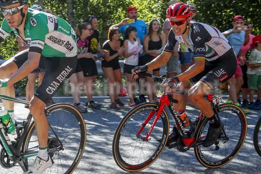 Vuelta Espana 2017 - 72th Edition - 3rd stage Prades - Andorra la Vella 158.5km - 21/08/2017 - Rui Alberto Faria Da Costa (POR - UAE Team Emirates) - Photo Luis Angel Gomez/BettiniPhoto©2017