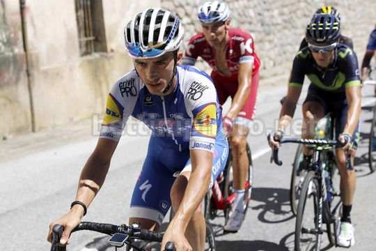 Vuelta Espana 2017 - 72th Edition - 3rd stage Prades - Andorra la Vella 158.5km - 21/08/2017 - Julian Alaphilippe (FRA - QuickStep - Floors) - Photo Luis Angel Gomez/BettiniPhoto©2017