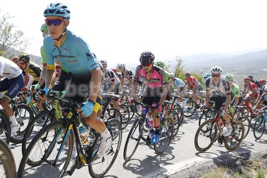 Vuelta Espana 2017 - 72th Edition - 5th stage Benicassim - Ermita Santa Lucia 175.7 km - 23/08/2017 - Miguel Angel Lopez (COL - Astana Pro Team) - Photo Luis Angel Gomez/BettiniPhoto©2017