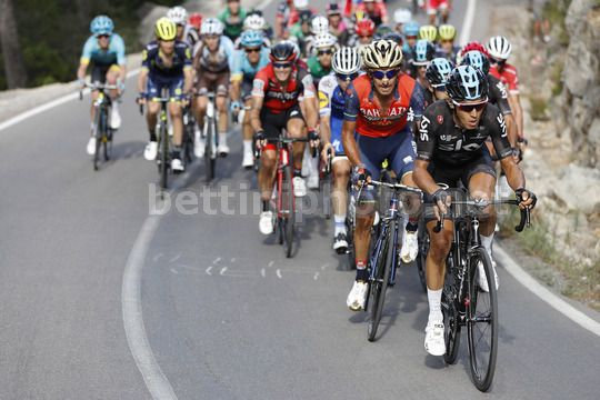 Vuelta Espana 2017 - 72th Edition - 5th stage Benicassim - Ermita Santa Lucia 175.7 km - 23/08/2017 - Diego Rosa (ITA - Team Sky) - Photo Luis Angel Gomez/BettiniPhoto©2017