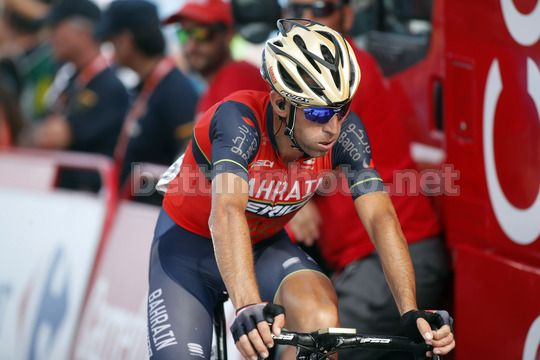 Vuelta Espana 2017 - 72th Edition - 5th stage Benicassim - Ermita Santa Lucia 175.7 km - 23/08/2017 - Vincenzo Nibali (ITA - Bahrain - Merida) - Photo Luis Angel Gomez/BettiniPhoto©2017