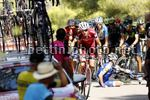 Vuelta Espana 2017 - 72th Edition - 6th stage Vila Real - Sagunto 204.4 km - 24/08/2017 - Ilnur Zakarin (RUS - Katusha - Alpecin) - David De la Cruz (ESP - QuickStep - Floors) - Romain Bardet (FRA  - AG2R - La Mondiale) - photo Luis Angel Gomez/BettiniPho