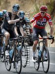 Vuelta Espana 2017 - 72th Edition - 9th stage Orihuela - Cumbre del Sol 174 km - 27/08/2017 - Wout Poels (NED - Team Sky) - Christopher Froome (GBR - Team Sky) - photo Luis Angel Gomez/BettiniPhoto©2017