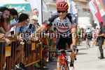 Vuelta Espana 2017 - 72th Edition - 9th stage Orihuela - Cumbre del Sol 174 km - 27/08/2017 - Federico Zurlo (ITA - UAE Team Emirates) - photo Luis Angel Gomez/BettiniPhoto©2017
