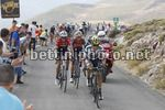 Vuelta Espana 2017 - 72th Edition - 14th stage Æ'cija - Sierra de la Pandera 175km - 02/09/2017 - Johan Esteban Chaves (Orica GreenEDGE) - Alberto Contador (ESP - Trek - Segafredo) - photo Luis Angel Gomez/BettiniPhoto©2017