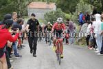 Vuelta Espana 2017 - 72th Edition - 17th stage Villadiego -  Los Machucos 180,5 km - 06/09/2017 - Jarlinson Pantano (COL - Trek - Segafredo) - photo Luis Angel Gomez/BettiniPhoto©2017