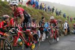 Vuelta Espana 2017 - 72th Edition - 17th stage Villadiego -  Los Machucos 180,5 km - 06/09/2017 - Darwin Atapuma (COL - UAE Team Emirates) - Jesus Hernandez (ESP - Trek - Segafredo) - photo Luis Angel Gomez/BettiniPhoto©2017