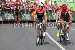 Vuelta Espana 2017 - 72th Edition - 18th stage Suances - Santo Toribio de Liebana 169 km - 07/09/2017 - Alberto Contador (ESP - Trek - Segafredo) - Christopher Froome (GBR - Team Sky) - photo Luis Angel Gomez/BettiniPhoto©2017