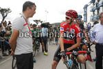 Vuelta Espana 2017 - 72th Edition - 18th stage Suances - Santo Toribio de Liebana 169 km - 07/09/2017 - Javier Guillen (ESP - La Vuelta) - Christopher Froome (GBR - Team Sky) - photo Luis Angel Gomez/BettiniPhoto©2017