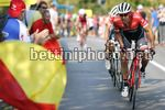 Vuelta Espana 2017 - 72th Edition - 19th stage Caso - Gijon 149.7 km - 08/09/2017 - Edward Theuns (BEL - Trek - Segafredo) - Alberto Contador (ESP - Trek - Segafredo) - photo Luis Angel Gomez/BettiniPhoto©2017
