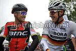 Grand Prix Cycliste de Quebec 2017 - 8th Edition - 08/09/2017 - Greg Van Avermaet (BEL - BMC) - Marcus Burghardt (GER - Bora - Hansgrohe) - photo  Brian Hodes/CV/BettiniPhoto©2017