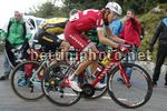 Vuelta Espana 2017 - 72th Edition - 20th stage Corvera - Angliru 117.5 km - 09/09/2017 - Ilnur Zakarin (RUS - Katusha - Alpecin) - photo Luis Angel Gomez/BettiniPhoto©2017