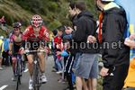 Vuelta Espana 2017 - 72th Edition - 20th stage Corvera - Angliru 117.5 km - 09/09/2017 - Bart De Clercq (BEL - Lotto Soudal) - photo Luis Angel Gomez/BettiniPhoto©2017