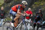 Vuelta Espana 2017 - 72th Edition - 20th stage Corvera - Angliru 117.5 km - 09/09/2017 - Vincenzo Nibali (ITA - Bahrain - Merida) - photo Luis Angel Gomez/BettiniPhoto©2017