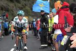 Vuelta Espana 2017 - 72th Edition - 20th stage Corvera - Angliru 117.5 km - 09/09/2017 - Miguel Angel Lopez (COL - Astana Pro Team) - photo Luis Angel Gomez/BettiniPhoto©2017