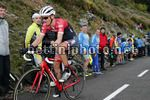Vuelta Espana 2017 - 72th Edition - 20th stage Corvera - Angliru 117.5 km - 09/09/2017 - Peter Stetina (USA - Trek - Segafredo) - photo Luis Angel Gomez/BettiniPhoto©2017