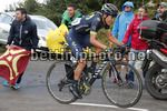Vuelta Espana 2017 - 72th Edition - 20th stage Corvera - Angliru 117.5 km - 09/09/2017 - Richard Carapaz (ECU - Movistar) - photo Luis Angel Gomez/BettiniPhoto©2017