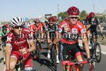 Vuelta Espana 2017 - 72th Edition - 21th stage Arroyomolinos - Madrid 117.6 km - 10/09/2017 - Christopher Froome (GBR - Team Sky) - Ilnur Zakarin (RUS - Katusha - Alpecin) - photo Luis Angel Gomez/BettiniPhoto©2017