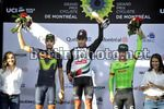 Grand Prix Cycliste de Montreal 2017 - 8th Edition - 10/09/2017 - Diego Ulissi (ITA - UAE Team Emirates) - Jesus Herrada (ESP - Movistar) - Tom Leezer (NED - LottoNL - Jumbo) - photo  Brian Hodes/CV/BettiniPhoto©2017