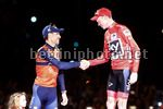 Vuelta Espana 2017 - 72th Edition - 21th stage Arroyomolinos - Madrid 117.6 km - 10/09/2017 - Christopher Froome (GBR - Team Sky) - Vincenzo Nibali (ITA - Bahrain - Merida) - photo Luis Angel Gomez/BettiniPhoto©2017